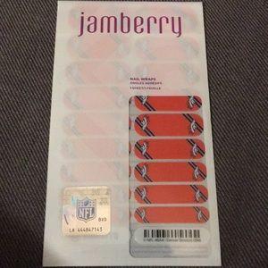 Jamberry Nail Wraps NFL Denver Broncos